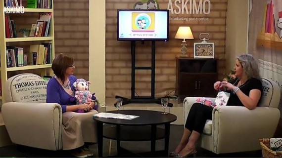 ליהי ג'ילט סנטו מארחת את עדנה נבון באסקימו TV